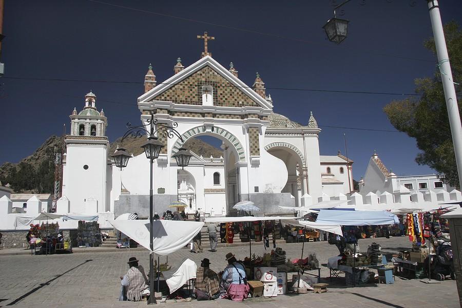 Copacabana na Bolívia - Basílica Nossa Senhora de Copacabana