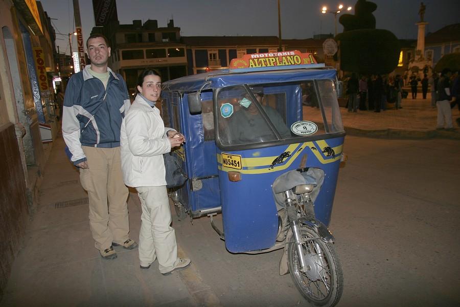 Puno no Peru - Transporte