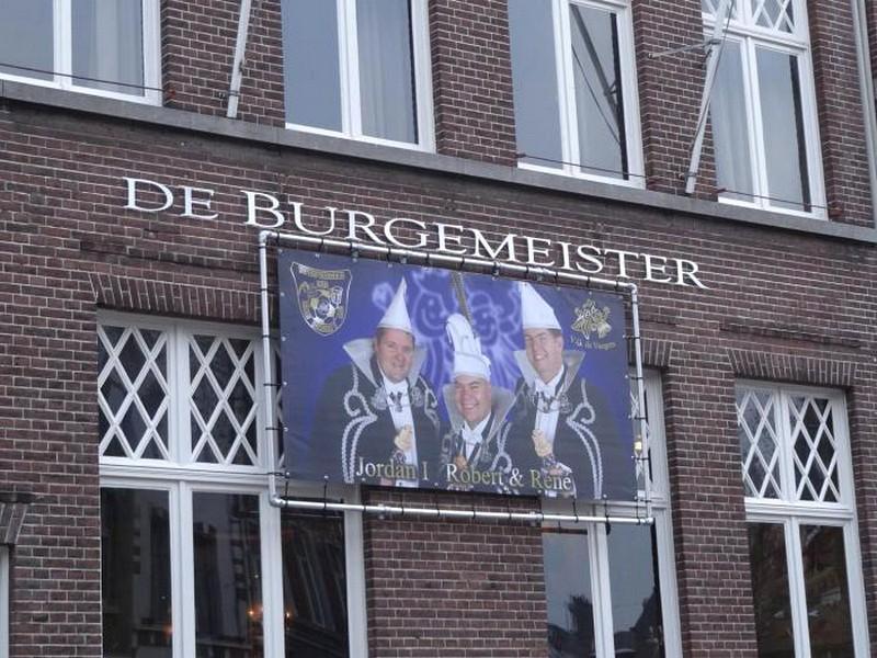 Venlo Holanda - Preparativo para o Carnaval de Venlo e seus Prefeitos