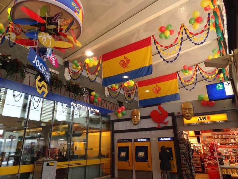 Venlo Holanda - Preparativo para o Carnaval de Venlo