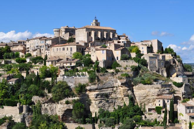 As Mais Belas Vilas da França - Gordes uma das Les Plus Beaux Villages de France em Provença, França
