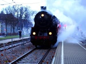 Dampfzug Trem Maria-fumaça Ettlingen Alemanha
