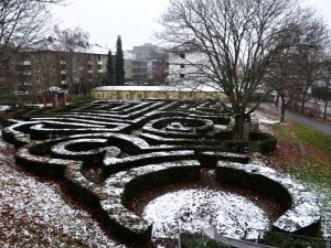 Inverno Ettlingen Alemanha