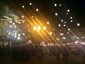 Mercado de Natal Ettlingen Alemanha