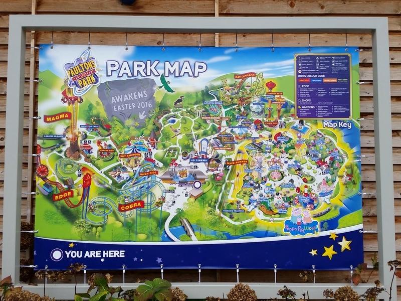 Parque da Peppa Pig (Peppa Pig World) - Mapa