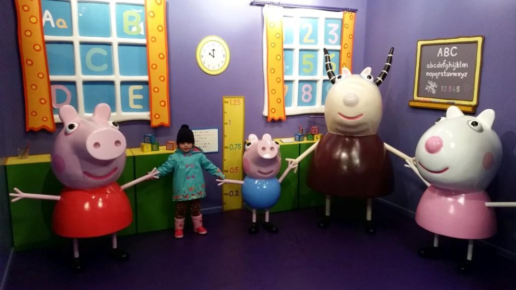 Parque da Peppa Pig (Peppa Pig World) - Encontro
