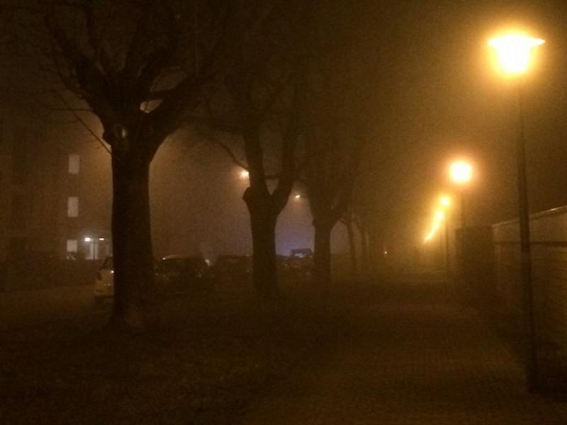 Dobel na Alemanha - Frio da noite