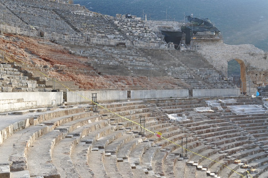 Pamukkale-Hierápolis e Éfeso na Turquia - As ruínas de Éfeso