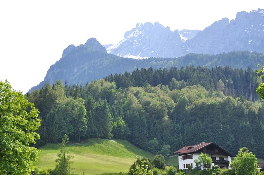 Berchtesgadener Land, Região da Baviera no sul da Alemanha - Lindas paisagens