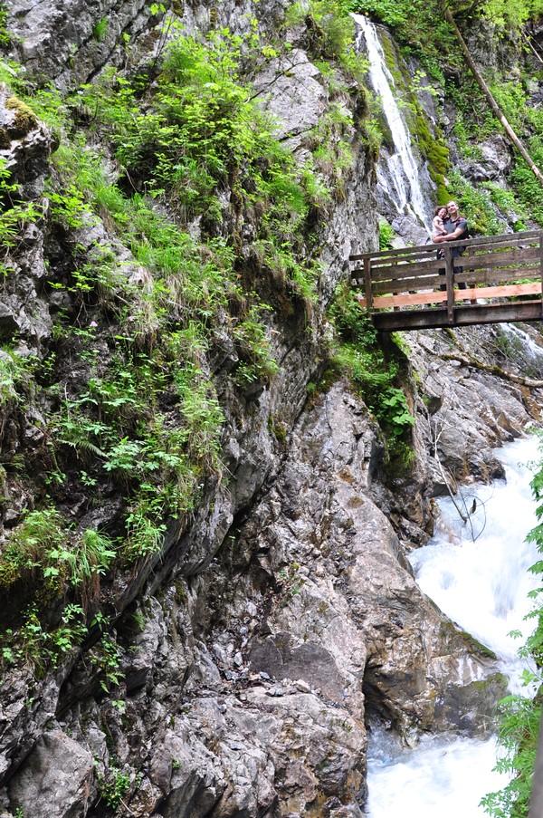 Berchtesgadener Land, Região da Baviera no sul da Alemanha - Wimbachklamm