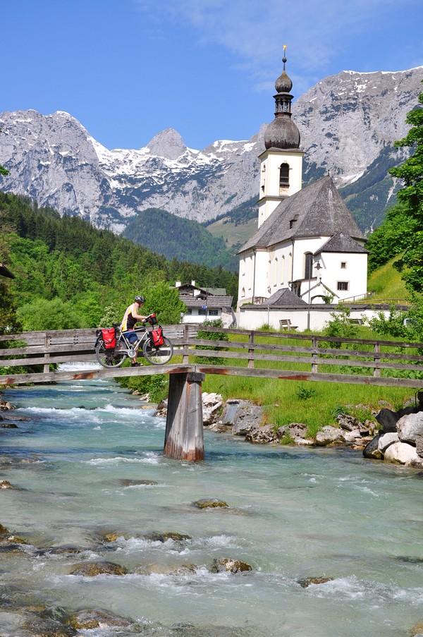 Berchtesgadener Land, Região da Baviera no sul da Alemanha - Ramsau