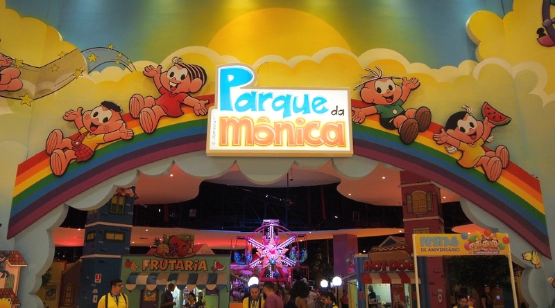 Parque da Mônica em São Paulo