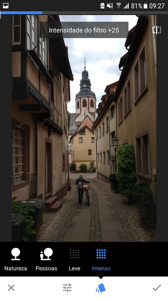 snapseed fotos viagem instagram - filtro HDR