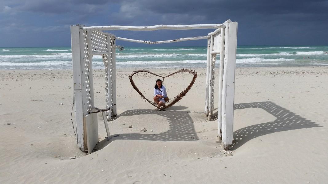 Viagem Varadero Cayo Blanco Cuba - Praia de Varadero próxima ao Resort Melia Las Antillas