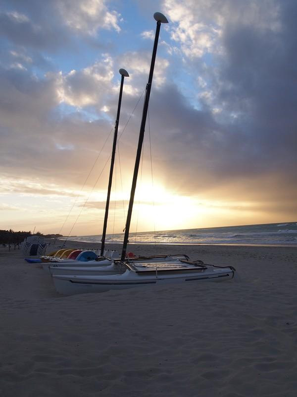 Viagem Varadero Cayo Blanco Cuba - Praia de Varadero no pôr do sol