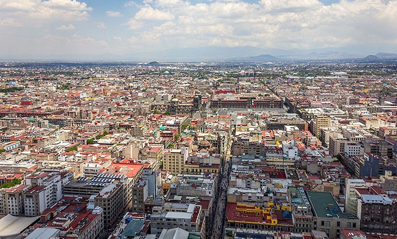 Cidades Sense8 - Lito Rodriguez - Cidade do México, México