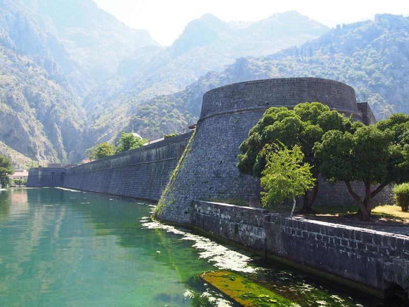 Kotor Montenegro - Muralha da cidade velha