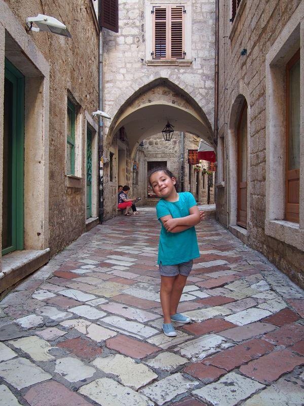 Kotor Montenegro - Caminhando pela cidade