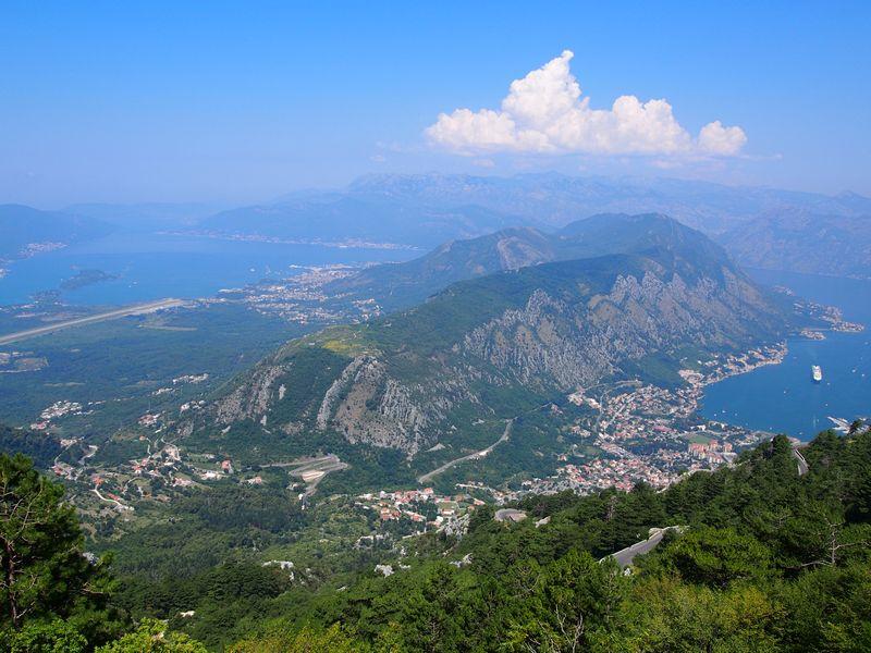 Parque Nacional de Lovcen Montenegro - Baía de Koto e Boka Bay