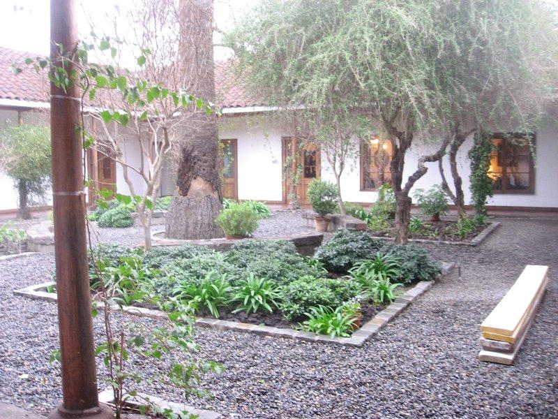 Vinícola Santa Carolina em Santiago do Chile - Tour pelo Jardim / Parque