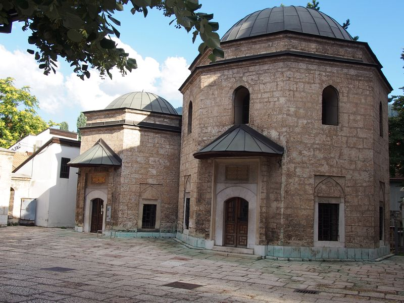 Sarajevo Bosnia e Herzegovina - Mesquita Gazi-Husrevbey