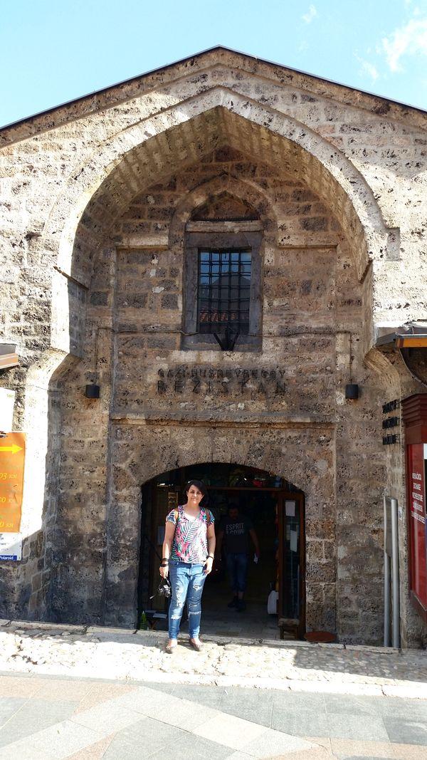 Sarajevo Bosnia e Herzegovina - Bezistan, bazar coberto do século 16