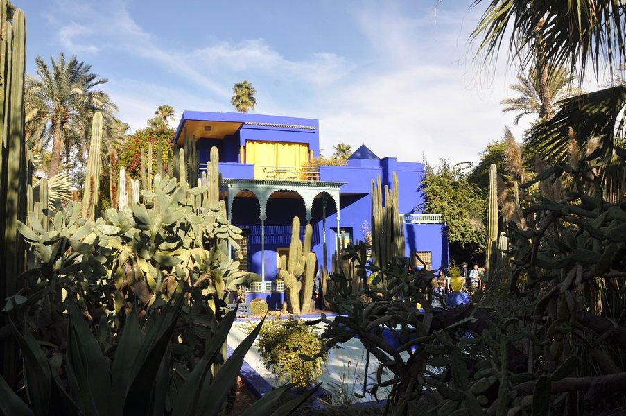 Dicas Viagem Marraquexe em Marrocos - Jardim Majorelle