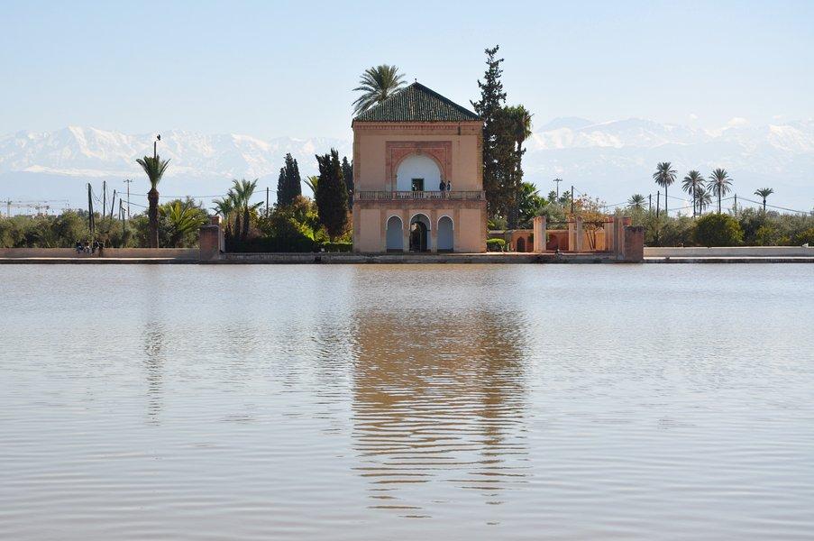 Dicas Viagem Marraquexe em Marrocos - Jardim Menara