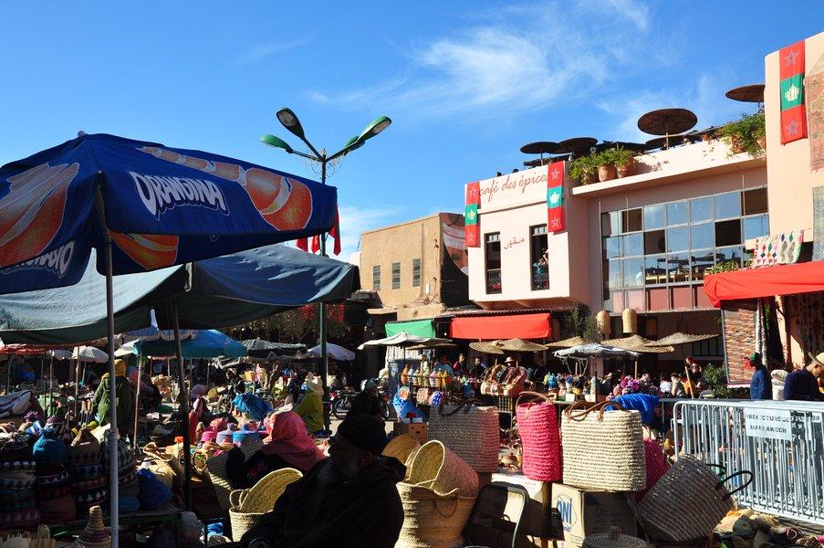 Dicas Viagem Marraquexe em Marrocos - Place des Epices
