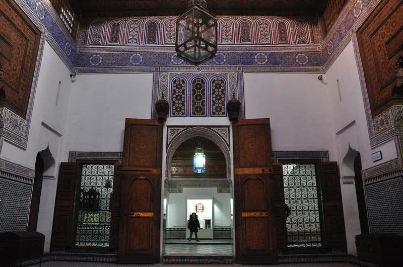 Fotos de Marraquexe em Marrocos - Museu Dar Si Said
