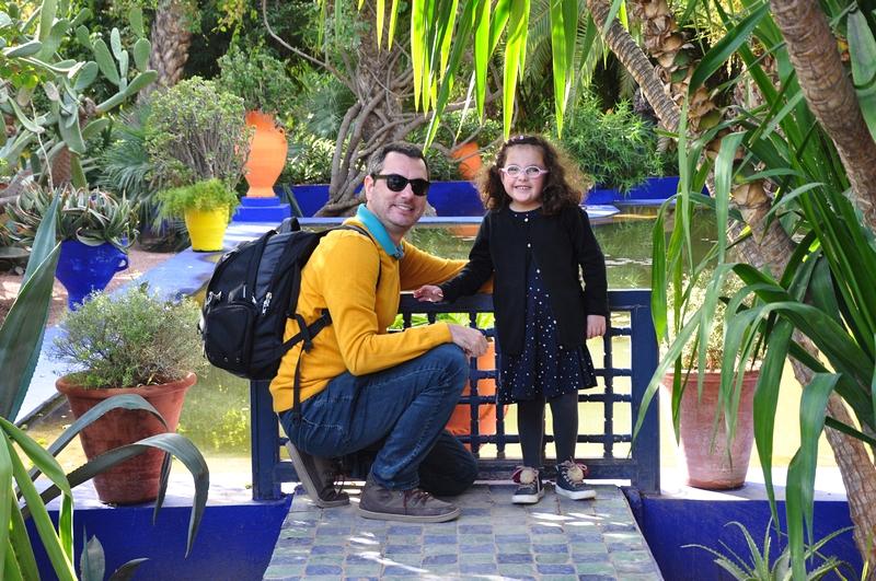 Fotos de Marraquexe em Marrocos - Jardim Majorelle