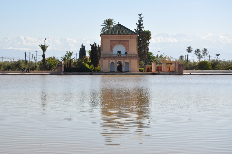 Fotos de Marraquexe em Marrocos - Jardim da Menara