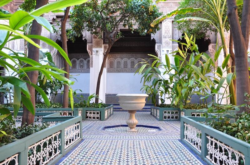 Fotos de Marraquexe em Marrocos - Bahia Palace