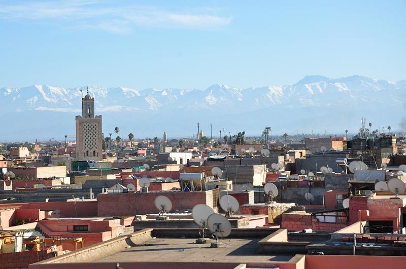 Fotos de Marraquexe em Marrocos - Medina