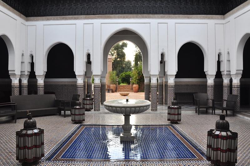Fotos de Marraquexe em Marrocos - La Mamounia