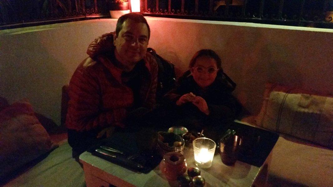 Dicas Viagem Marrakech em Marrocos - Zwin Zwin Café em Marraquexe, comida boa e bela vista