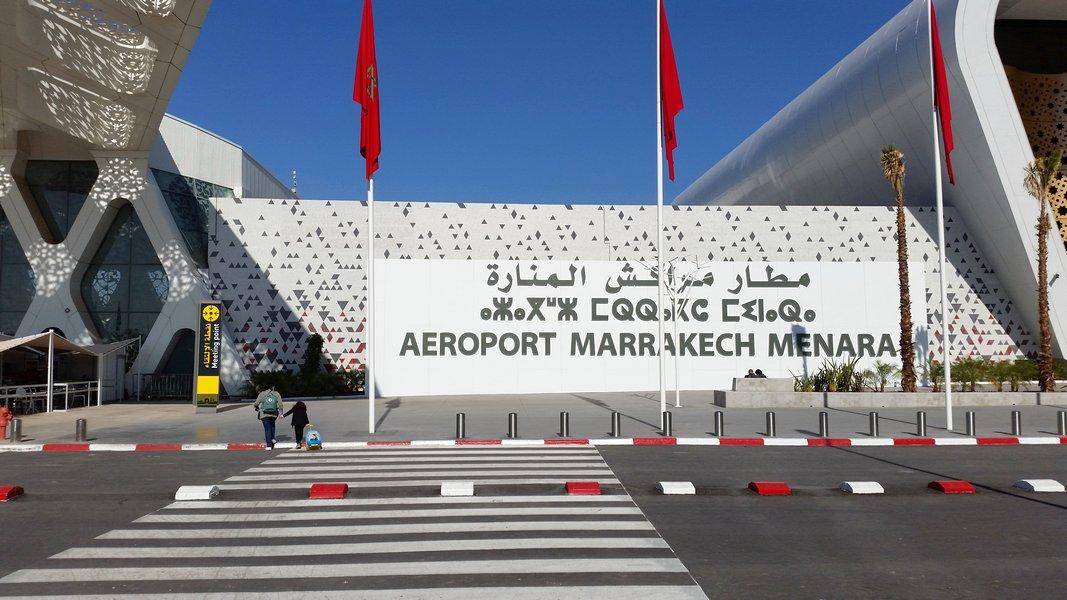 Dicas Viagem Marrakech em Marrocos - Aeorporto de Marrakech Menara