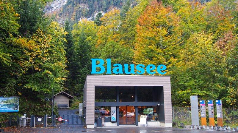 Lago Blausee Suíça - Entrada do parque e início da trilha