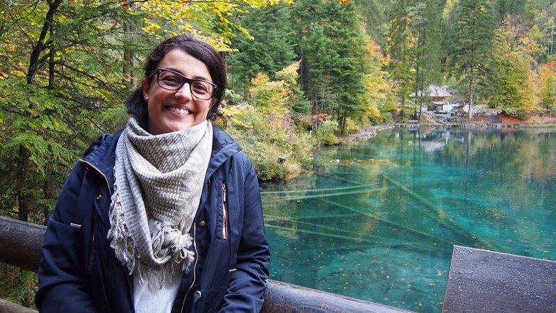 Lago Blausee Suíça - Lindo e transparente