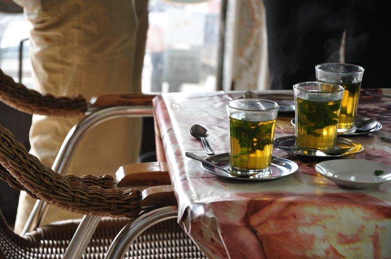Viagem Ait-Ben-Haddou Ouarzazate Marrocos - Chá de menta