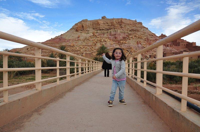 Viagem Ait-Ben-Haddou Ouarzazate Marrocos - Ponte sobre o rio Ounila