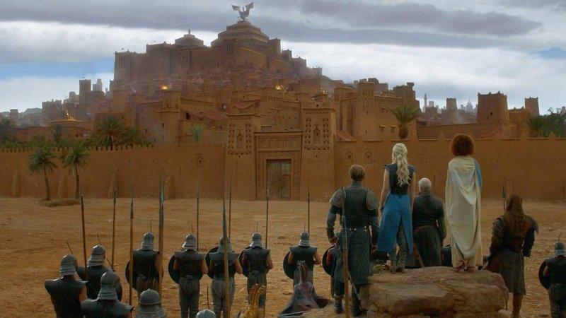 Ait-Ben-Haddou Ouarzazate Marrocos - Game of Thrones