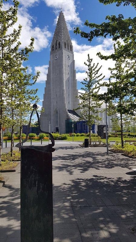 Viagem Reykjavik Islandia - Hallgrímskirkja