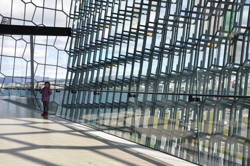 Viagem Reykjavik Islandia - Harpa Auditório e Centro de Conferência