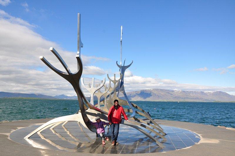 Viagem Reykjavik Islandia - Sólfar (The Sun Voyager)