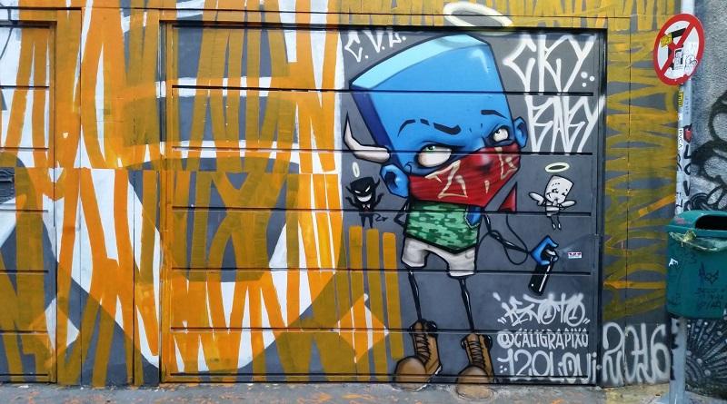 Posts de 2017 mais acessados - Beco do Batman é museu de grafite e arte de rua em São Paulo