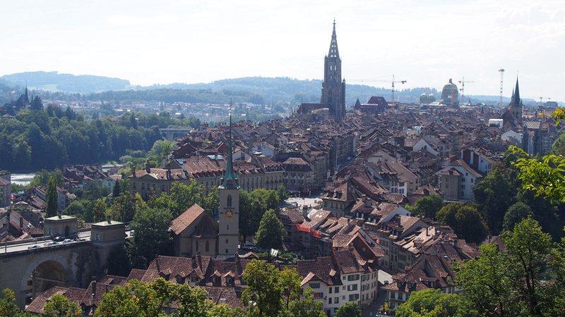 Hotel Berna Suíça - Vista da cidade de Berna