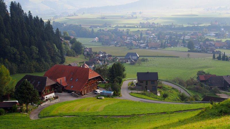 Hotel Berna Suíça - Cidade de Signau na Região do Emmental