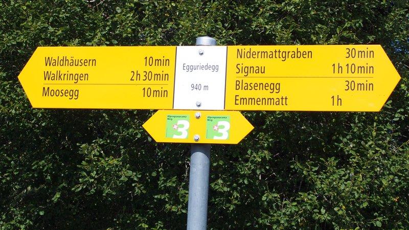 Signau região do Emmental Suíça - Trilha Signau Loop