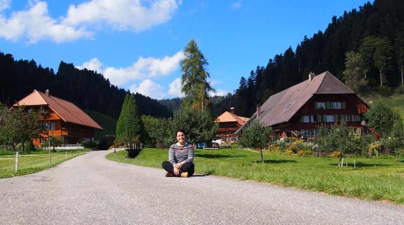 Trilha em Signau região do Emmental Suíça